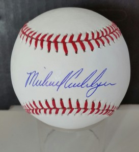 An Michael Cuddyer autographed NY Mets baseball