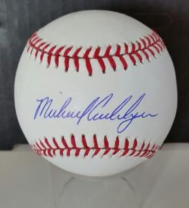 An Michael Cuddyer autographed NY Mets baseball