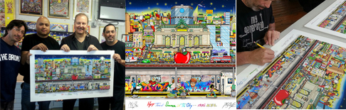 Bid on Incredible Artwork and Help us Achieve our Mission