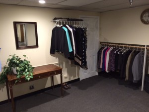 The Dress for Success Career Closet at the Terry Smith Wellness Center