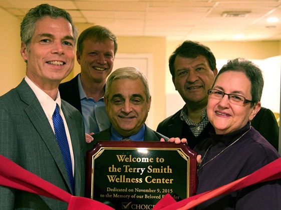 Terry Smith Wellness Center Dedicated