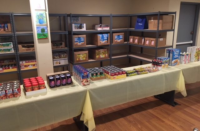 Visit our New Food Pantry