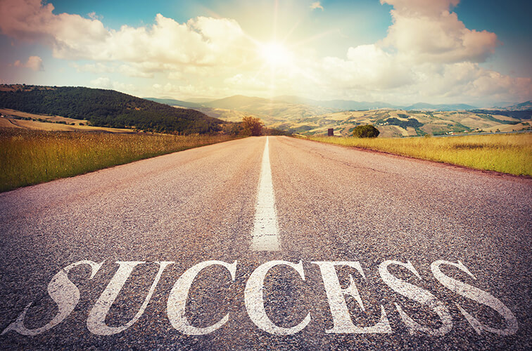 road that stays success
